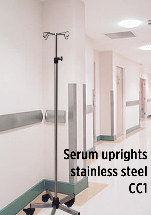 Serum uprights stainless steel